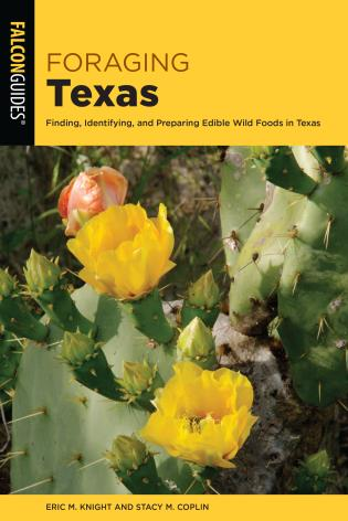 Cover image for the book Foraging Texas: Finding, Identifying, and Preparing Edible Wild Foods in Texas
