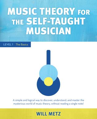 Cover image for the book Music Theory for Self-Taught Musicians: Level 1: The Basics