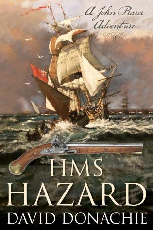 Cover image for the book HMS Hazard: John Pearce Novel #16