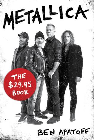 Cover image for the book Metallica: The $24.95 Book