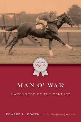 Cover image for the book Man O'War: Racehorse of the Century