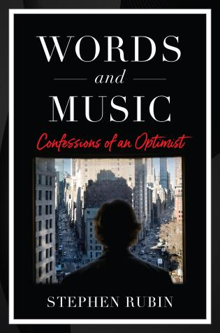 Cover image for the book Words and Music: The Adventures of an Optimist