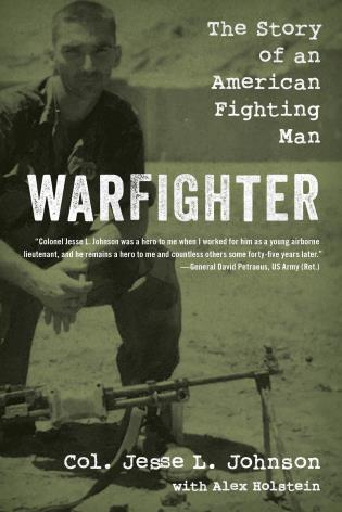 Cover image for the book Warfighter: The Story of an American Fighting Man