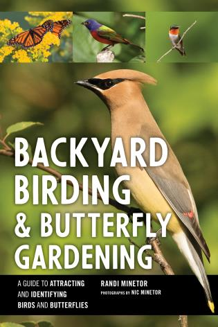 Cover image for the book Backyard Birding and Butterfly Gardening