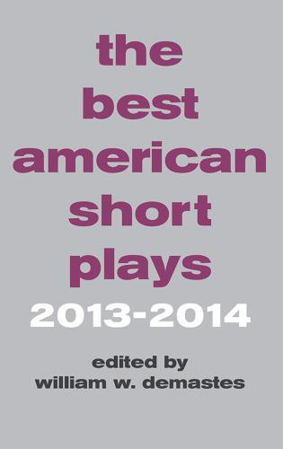 Cover image for the book The Best American Short Plays 2013-2014