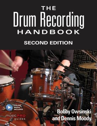 Cover image for the book The Drum Recording Handbook, Second Edition