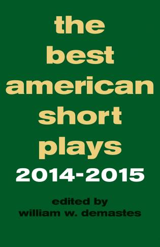 Cover image for the book The Best American Short Plays 2014-2015