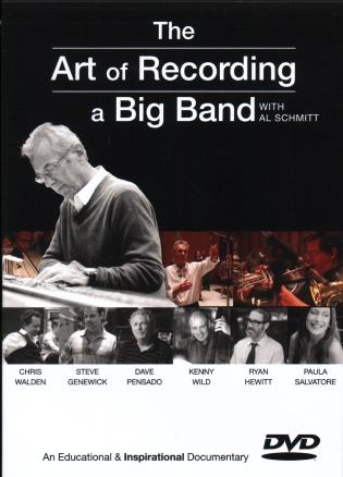 Cover image for the book The Art of Recording a Big Band: Al Schmitt