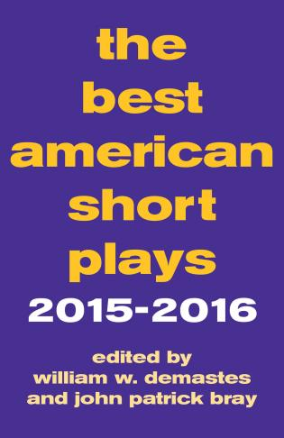 Cover image for the book The Best American Short Plays 2015-2016