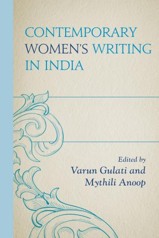 Cover image for the book Contemporary Women's Writing in India