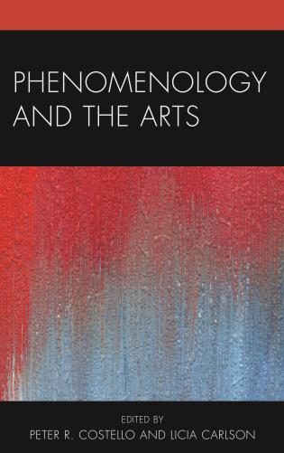 Cover image for the book Phenomenology and the Arts