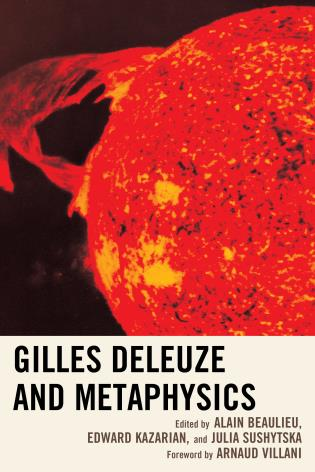Cover image for the book Gilles Deleuze and Metaphysics