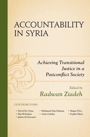 Cover image for the book Accountability in Syria: Achieving Transitional Justice in a Postconflict Society
