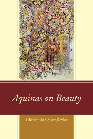 Cover image for the book Aquinas on Beauty