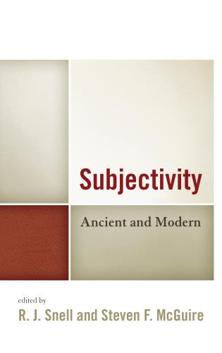 Cover image for the book Subjectivity: Ancient and Modern