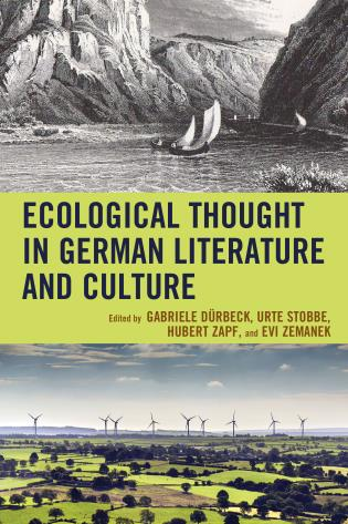 Cover image for the book Ecological Thought in German Literature and Culture