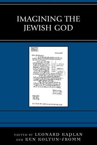 Cover image for the book Imagining the Jewish God