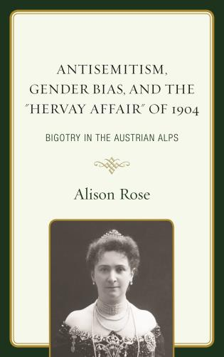 Cover image for the book Antisemitism, Gender Bias, and the