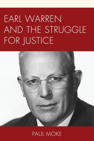 Cover image for the book Earl Warren and the Struggle for Justice