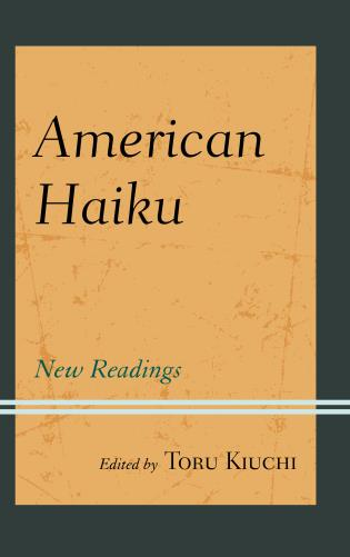 Cover image for the book American Haiku: New Readings