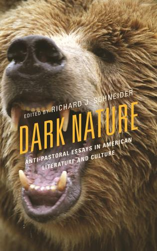 Cover image for the book Dark Nature: Anti-Pastoral Essays in American Literature and Culture