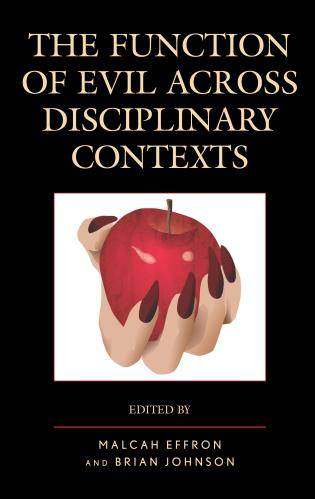 Cover image for the book The Function of Evil across Disciplinary Contexts