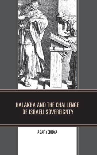 Cover image for the book Halakha and the Challenge of Israeli Sovereignty