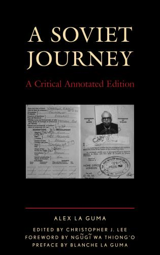Cover image for the book A Soviet Journey: A Critical Annotated Edition