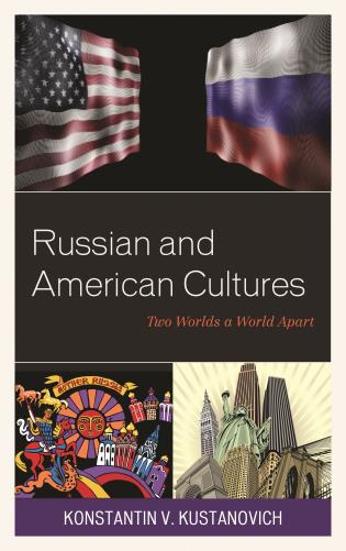 Cover image for the book Russian and American Cultures: Two Worlds a World Apart
