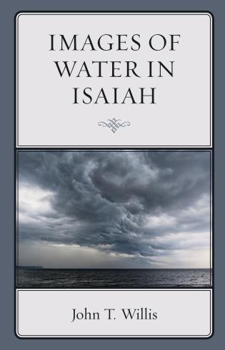Cover image for the book Images of Water in Isaiah