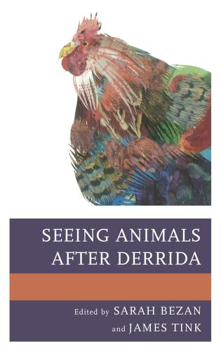 Cover image for the book Seeing Animals after Derrida