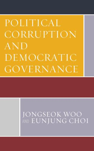 Cover image for the book Political Corruption and Democratic Governance