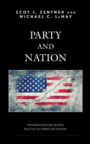Cover image for the book Party and Nation: ImmigrationandRegimePoliticsinAmericanHistory