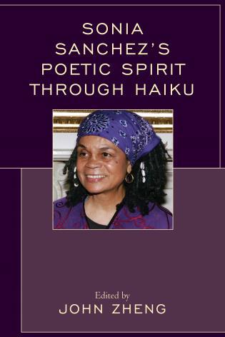 Cover image for the book Sonia Sanchez's Poetic Spirit through Haiku