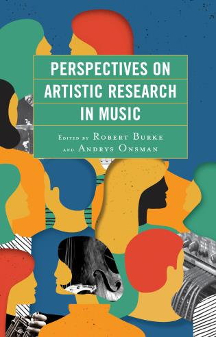Cover image for the book Perspectives on Artistic Research in Music