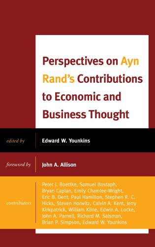 Cover image for the book Perspectives on Ayn Rand's Contributions to Economic and Business Thought