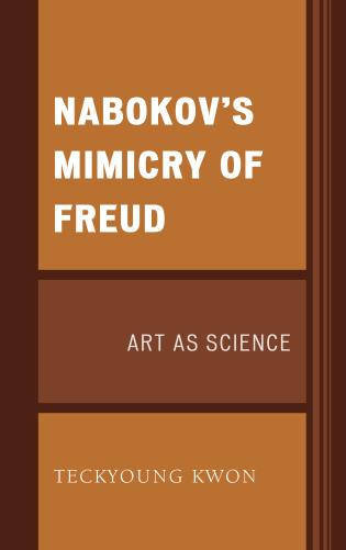 Cover image for the book Nabokov's Mimicry of Freud: Art as Science