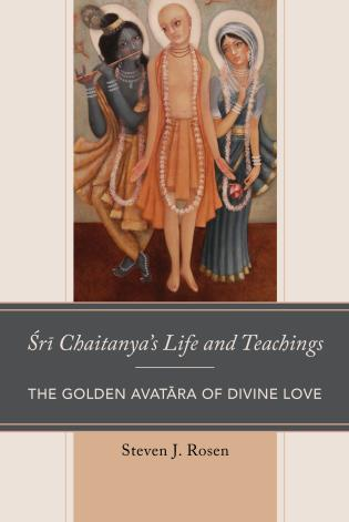 Cover image for the book Sri Chaitanya's Life and Teachings: The Golden Avatara of Divine Love