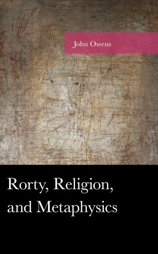 Cover image for the book Rorty, Religion, and Metaphysics