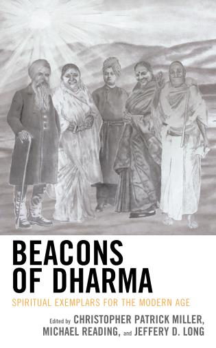 Cover image for the book Beacons of Dharma: Spiritual Exemplars for the Modern Age