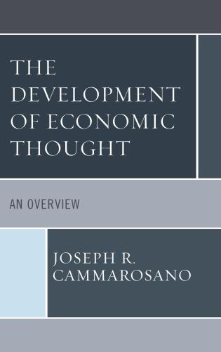 Cover image for the book The Development of Economic Thought: An Overview