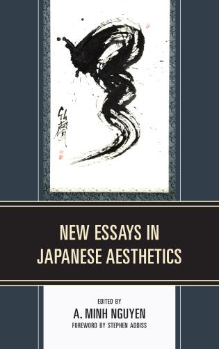 Cover image for the book New Essays in Japanese Aesthetics