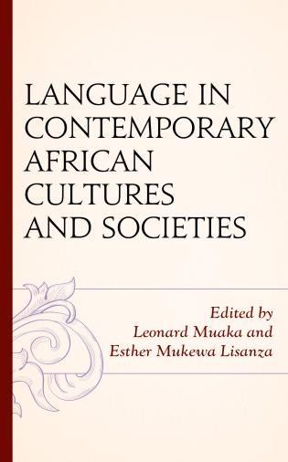 Cover image for the book Language in Contemporary African Cultures and Societies
