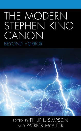 Cover image for the book The Modern Stephen King Canon: Beyond Horror