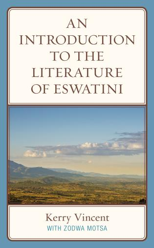 Cover image for the book An Introduction to the Literature of eSwatini