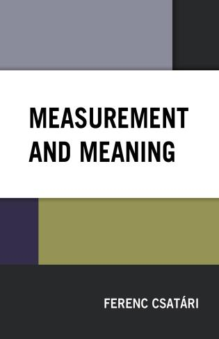 Cover image for the book Measurement and Meaning