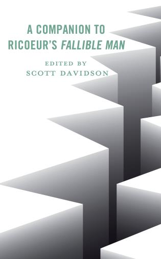 Cover image for the book A Companion to Ricoeur's Fallible Man