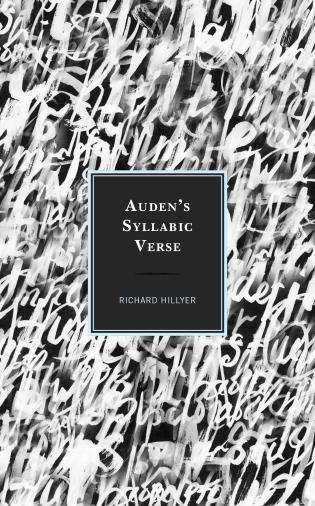 Cover image for the book Auden's Syllabic Verse