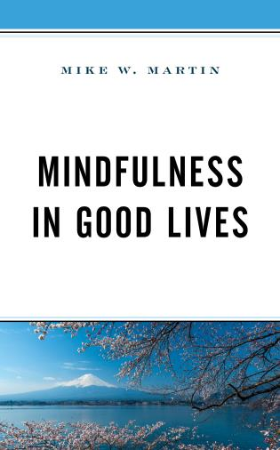 Cover image for the book Mindfulness in Good Lives