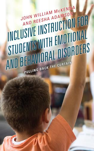 Cover image for the book Inclusive Instruction for Students with Emotional and Behavioral Disorders: Pulling Back the Curtain